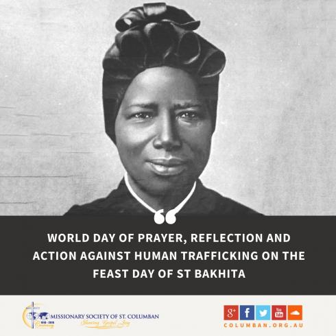 columban-st-bakhita-antihuman-trafficking