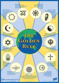 The Golden Rule Poster
