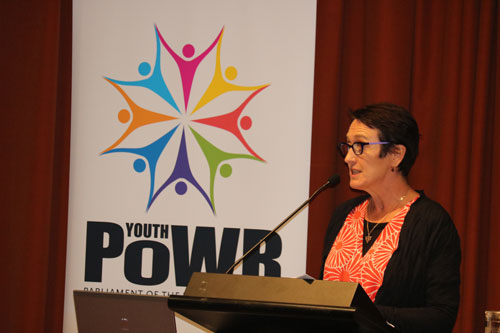 Guest speaker at Youth Powr Harmony Day 2016