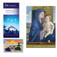 2019 Columban Art Calendar, Christmas Book & Christmas Cards