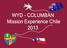 WYD - Columban Mission Experience Chile 2013
