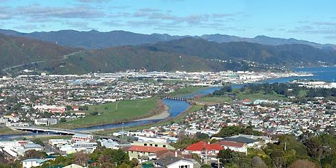 Lower Hutt, North Island, New Zealand (Image Source: Britannica.com, Adam Rosner, GNU Free Documentation License)